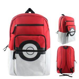 Grand sac à dos Pokéball - Pokémon : c'est parti, Pikachu ! Ketchum aux cendres