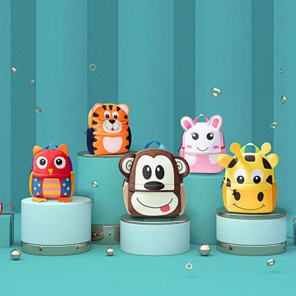 Sac À Dos Animaux 3D Pour Enfant