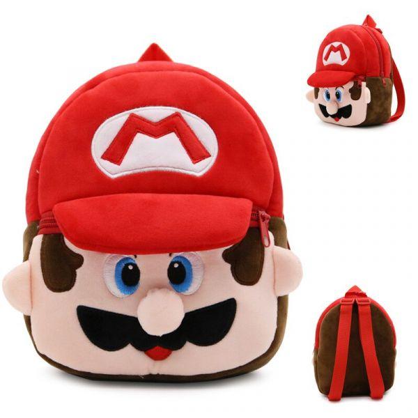 Sac À Dos Peluche Super Mario Pour Enfants
