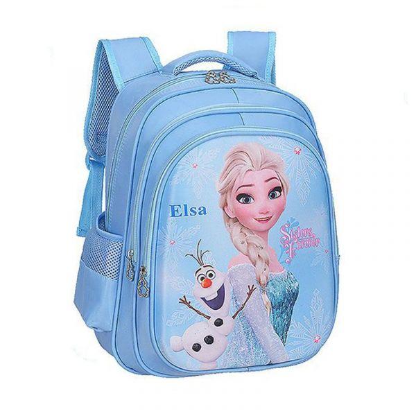 Sac D'École Disney Elsa Pour Filles