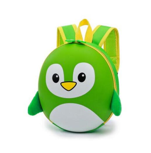 Petit Sac À Dos Pingouin 3D À Coque Rigide