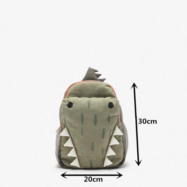 Sac À Dos Crocodile Vert En 3D