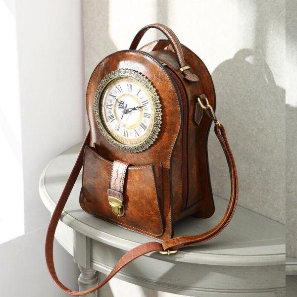Sac À Dos Vintage Horloge