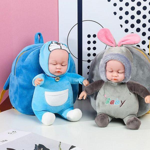 Sac À Dos Peluche Bébé 3D