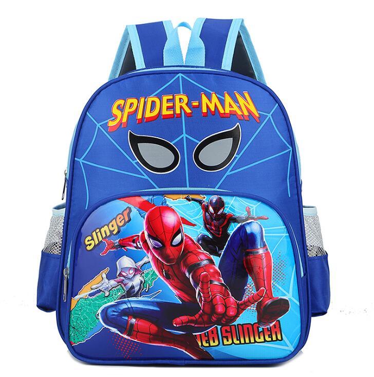 Sac À Dos D'École Spiderman Et Ses Amis